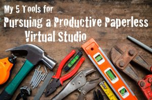 EA081: My 5 Tools for Pursuing a Productive Paperless Virtual Studio [Podcast]