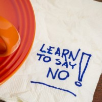 "Learn to Say, ""No!"""