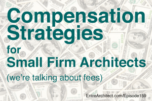 compensation strategies for architects