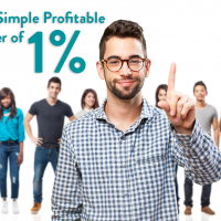 The Simple Profitable Power of 1%