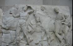Figure 1 West frieze, XLVII, 132–136, British Museum; Wikipedia