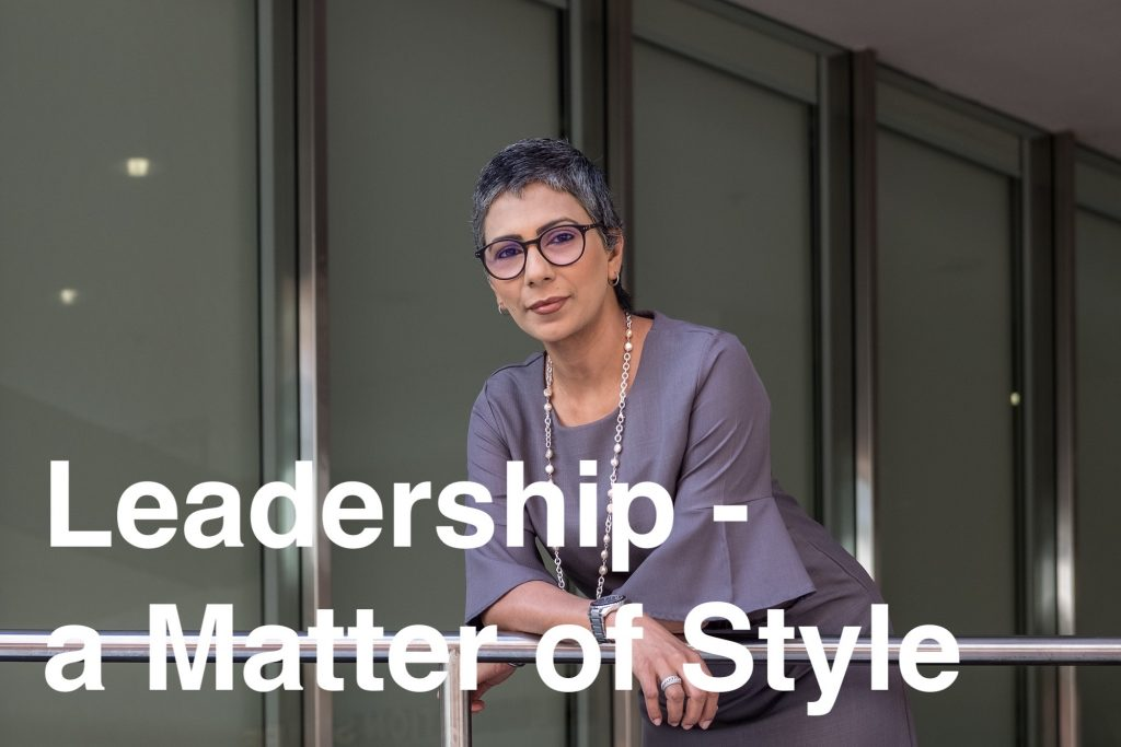 Leadership - A Matter Of Style